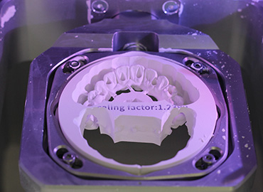 Laboratorio de prótesis dental robotizado